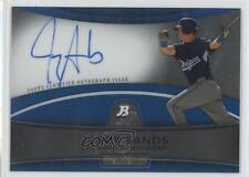 2010 Bowman Platinum Chrome Autograph Blue Refractor #BPA-JS Jerry Sands Auto