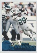 1996 Pacific Crown Collection Blue #346 Mark McMillian Philadelphia Eagles Card