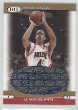 2005 SAGE Hit Autographs Gold A45 Channing Frye Auto Autographed Basketball Card