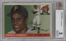1955 Topps 164 Roberto Clemente BVG 5 Pittsburgh Pirates RC Rookie Baseball Card