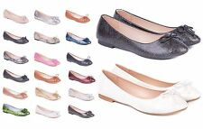 Womens Ballerina Pumps & Ballet Shoes Size 3 to 8 UK - LADIES SHOES in 23 STYLES