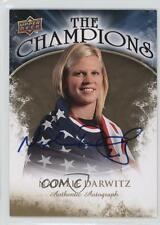 2009 Upper Deck #CH-ND Natalie Darwitz Team USA (National Team) Auto Hockey Card