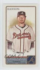 2011 Topps Allen & Ginter's Mini Ginter Back #195 Tommy Hanson Atlanta Braves