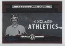 2005 Playoff Prestige Prestigious Pros Red #PP-74 Rollie Fingers Baseball Card