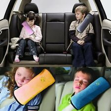 Auto Safety Pillow Cushion Strap Car Seat Belts Protect Shoulder For Kids Child