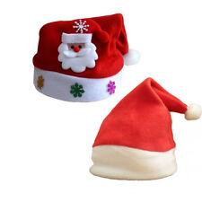 Children Kids Baby Boys Girls Santa Claus Hat Christmas Xmas Party Costume Gift