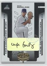 2004 Leaf Certified Materials #250 Mike Gosling Seattle Mariners Auto RC Card