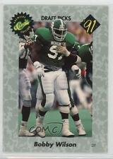 1991 Classic Draft Picks #15 Bobby Wilson Michigan State Spartans Football Card