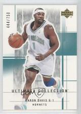 2003-04 Upper Deck Ultimate Collection #71 Baron Davis New Orleans Hornets Card