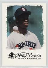 2000 SP Top Prospects Minor Memories #Jr2 Ken Griffey Jr San Bernardino Spirit