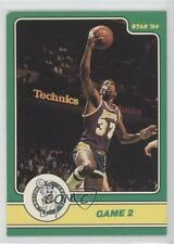 1984-85 Star Celtics Champs #5 Game 2 Los Angeles Lakers Basketball Card