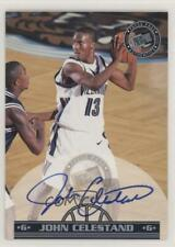 1999 Press Pass Authentics Autographs #JOCE John Celestand Auto Basketball Card