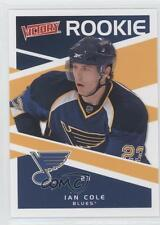 2010-11 Upper Deck Victory #303 Ian Cole St. Louis Blues RC Rookie Hockey Card