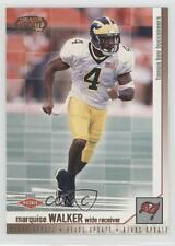 2002 Pacific Heads Update #165 Marquise Walker Michigan Wolverines Football Card