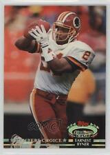 1992 Topps Stadium Club #298 Earnest Byner Washington Redskins Football Card