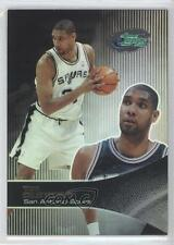 2003-04 eTopps #1 Tim Duncan San Antonio Spurs Basketball Card