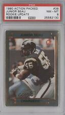 1990 Action Packed Rookie Update #38 Junior Seau PSA 8 San Diego Chargers Card