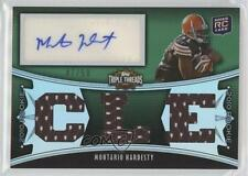 2010 Topps Triple Threads Emerald #117.2 Montario Hardesty Cleveland Browns Card
