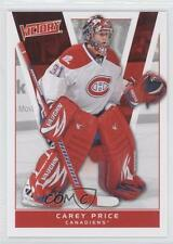 2010-11 Upper Deck Victory #104 Carey Price Montreal Canadiens Hockey Card