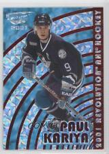 2000 Pacific Revolution Red 2 Paul Kariya Anaheim Ducks (Mighty of Anaheim) Card