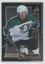 1997 Pinnacle Zenith Z-Silver 24 Teemu Selanne Anaheim Ducks (Mighty of Anaheim)
