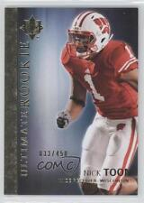 2012 Upper Deck Ultimate Collection Rookie #49 Nick Toon Wisconsin Badgers Card