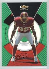 2005 Topps Finest Green Refractor #146 Carlos Rogers Washington Redskins Card