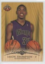 2008 Topps Hardwood Maple Wood #112 Jason Thompson Sacramento Kings Rookie Card