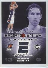 2005 Upper Deck ESPN Sportscenter Swatches #SCS-SN Steve Nash Phoenix Suns Card
