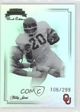 2008 Press Pass Legends Bowl Edition #52 Billy Sims Oklahoma Sooners Card