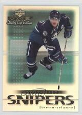 1999 Upper Deck MVP Stanley Cup Edition Second Season Snipers #SS1 Teemu Selanne