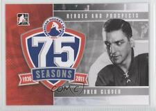 2010 In the Game Heroes and Prospects AHL 75th Anniversary #AHLA-10 Fred Glover