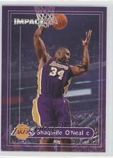 1999-00 Skybox Impact #150 Shaquille O'Neal Los Angeles Lakers Basketball Card