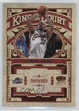 2009-10 Crown Royale King of the Court #1 Lebron James Cleveland Cavaliers Card