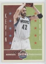 2012 Panini Past & Present #61 Kevin Love Minnesota Timberwolves Basketball Card