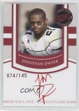 2010 Press Pass Portrait Edition #SS-JD Jonathan Dwyer Auto Rookie Football Card