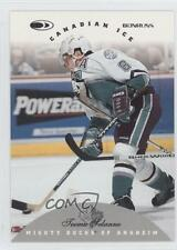 1996-97 Donruss Canadian Ice #85 Teemu Selanne Anaheim Ducks (Mighty of Anaheim)