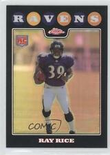 2008 Topps Chrome Refractor TC187 Ray Rice Baltimore Ravens Rookie Football Card