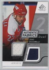 2008-09 SP Game Used Edition Authentic Fabrics Dual #AF-DC Dino Ciccarelli Card