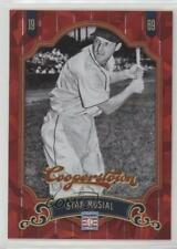 2012 Panini Cooperstown Red Crystal Collection #92 Stan Musial Baseball Card