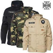 West Coast Choppers Jacket WCC Hippie Hunting Squad Summer Parka Transitional