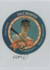 1990 King-B Collector's Edition Discs Food Issue Base #11 Dale Murphy Card