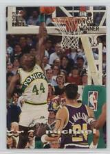1993 Topps Stadium Club Division Winner 85 Michael Cage Seattle Supersonics Card