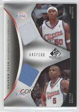 2006 SP Game Used Edition #AFD-MM Corey Maggette Cuttino Mobley Basketball Card