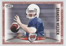 2012 SAGE Hit Red 103 Brandon Weeden Oklahoma State Cowboys Rookie Football Card