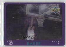 1997-98 Upper Deck Diamond Vision #15 Vin Baker Milwaukee Bucks Basketball Card