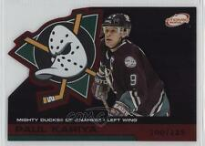 2002-03 Pacific Atomic Red #2 Paul Kariya Anaheim Ducks (Mighty of Anaheim) Card