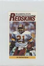 1990 Mobil Washington Redskins Police #21 Earnest Byner Football Card