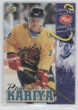 1996-97 Upper Deck Post #N/A Paul Kariya Anaheim Ducks (Mighty of Anaheim) Card