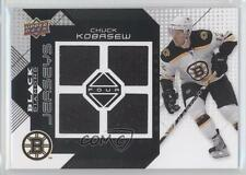 2008-09 Upper Deck Black Diamond Quad Jerseys BDJ-CK Chuck Kobasew Boston Bruins